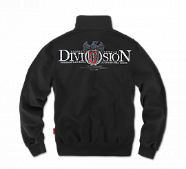 Толстовка Dobermans Aggressive «Division 44» Black, на молнии
